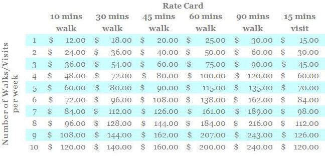 Dog Training Prices